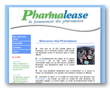 site web pharmalease
